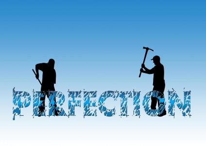 reject perfectionism